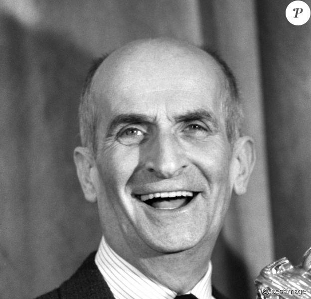 Louis De Funès et son César d'honneur en 1980