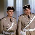 Michel Galabru et Louis de Funès dans Le Gendarme en balade