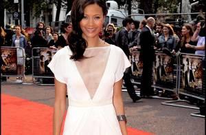 PHOTOS : Quand la robe sexy de Thandie Newton fait monter la température à Londres...