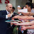 Jason Statham lors de la première d'Expendables 3 à l'Odeon Cinema, Londres, le 4 août 2014.