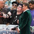 Sylvester Stallone lors de la première d'Expendables 3 à l'Odeon Cinema, Londres, le 4 août 2014.