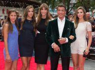 Sylvester Stallone, un roc aux anges avec sa femme et ses trois bombes de filles