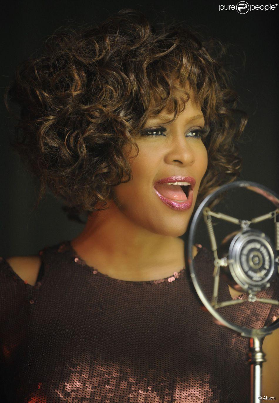 Whitney Houston à New York le 24 août 2009.