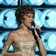 Whitney Houston à Las Vegas le 15 septembre 2004.