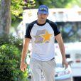 Ashton Kutcher à Hollywood, Los Angeles, le 28 juin 2014.