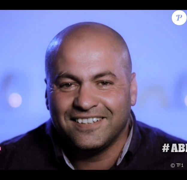 Abdel, candidat de Secret Story 8, dans son portrait (Secret Story 8, le vendredi 18 juillet 2014.)