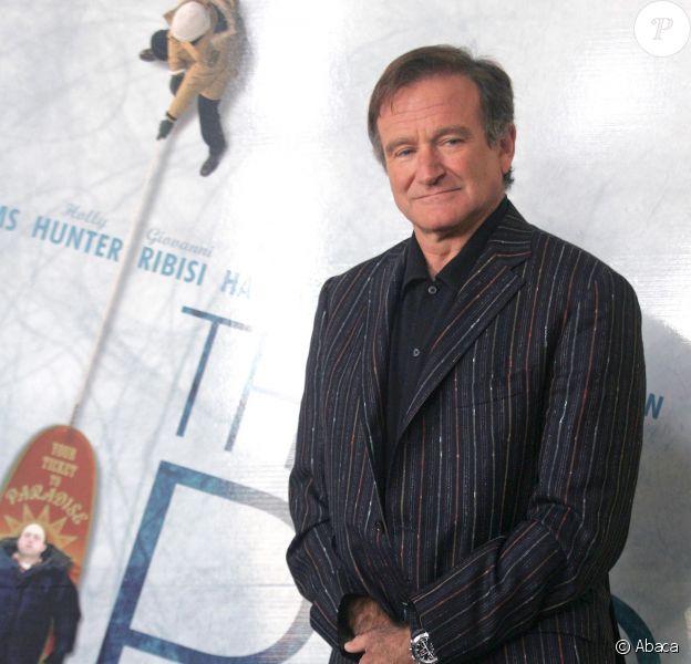 Robin Williams à Rome le 15 novembre 2005