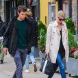 Nicky Hilton et son compagnon James Rothschild se promènent à New York, le 9 mai 2014.