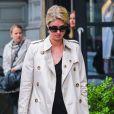 Nicky Hilton et son petit ami James Rothschild se promènent dans les rues de New York, le 9 mai 2014.