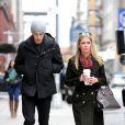 Nicky Hilton et son boyfriend James Rothschild dans les rues de New York, le 21 mars 2013.