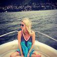 Fiancée comblée, Nicky Hilton a publié des photos de son road trip en compagnie de son futur mari James Rothschild, le 10 août 2014.