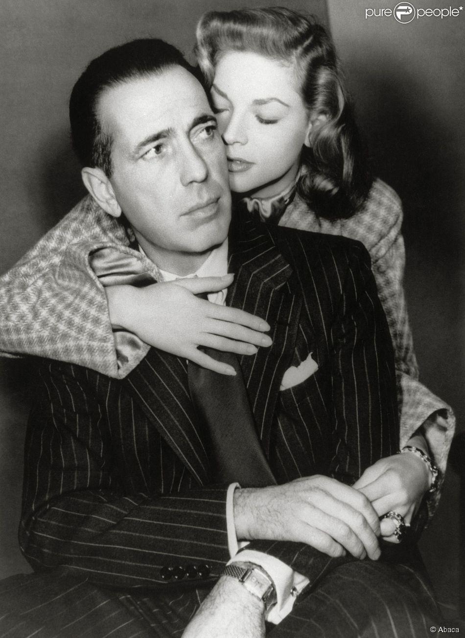 Lauren Bacall couple