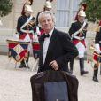 Franz-Olivier Giesbert à l'Elysée à Paris, le 6 juin 2014,