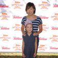 Amy Anderson et sa fille actrice Aubrey Anderson-Emmons assistent au spectacle Pirate & Princess : Power of Doing Good au Brookside Park. Pasadena, le 16 août 2014.