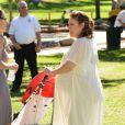 Alyssa Milano lors du spectacle Pirate & Princess : Power of Doing Good au Brookside Park. Pasadena, le 16 août 2014.