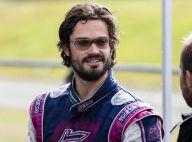 Carl Philip de Suède : Le prince playboy glisse en kart, son père sort sa Volvo