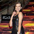 """La charmante Milla Jovovich assiste à la première du film """"Pompéi"""" à Roppongi Hills à Tokyo. Le 26 mai 2014"""