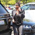 Kim Kardashian à Calabasas, le 19 août 2014.