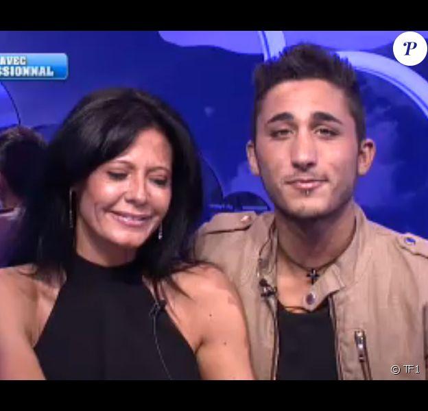 Nathalie et Vivian - Prime de Secret Story 8 sur TF1. Le 15 août 2014.