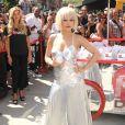 Rita Ora fête le lancement du nouveau parfum MYNY de DKNY à New York, le 19 août 2014.
