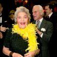 La baronne Philippine de Rothschild à l'occasion de la fête alsacienne de la Saint Nicolas. En 2007.