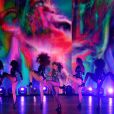Beyoncé sur la scène des MTV VMA à Los Angeles, le 24 août 2014.