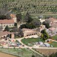 Exclusif - Vue du domaine de Miraval en avril 2011, lors des travaux entrepris par ses propriétaires Brad Pitt et Angelina Jolie.
