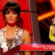 Frankee dans The Voice Kids, le 30 août 2014 sur TF1.