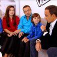 Esteban dans The Voice Kids, le 30 août 2014 sur TF1.