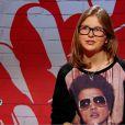 Sarah dans The Voice Kids, le 30 août 2014 sur TF1.