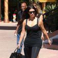 Kim Kardashian s'est rendue à une séance de Pilates à Sherman Oaks, Los Angeles, le 28 août 2014.