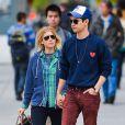 Kate Mara et Max Minghella se baladent dans les rues de New York, le 6 mai 2014.