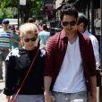 Kate Mara et Max Minghella à New York le 7 juin 2014.