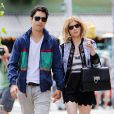 Kate Mara et Max Minghella à Soho le 6 juin 2014.