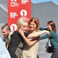 "Lena Dunham et Kate Mara - Photocall ""Miu Miu Women's Tales 7 lors du 71e festival international du film de Venise, le 28 août 2014."