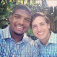 Michael Sam et Vito Cammisano, photo publiée sur son compte Instagram le 17 mai 2014