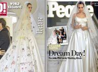 Mariage d'Angelina Jolie et Brad Pitt : Les premières photos de la noce !