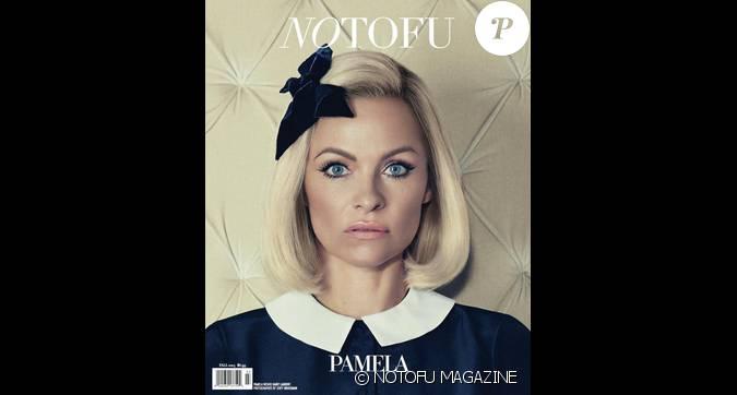Pamela anderson litt ralement m tamorphos e en couverture de no tofu magazine dat de l - Date de l automne ...