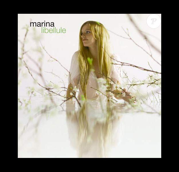 Marina présente Libellule, son premiera album qui sortira le 20 octobre 2008