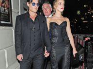 Johnny Depp, amoureux chic au côté de sa bombe et fiancée Amber Heard