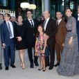 Robert Downey Jr, Susan Downey, Robert Duvall, Vera Fermiga and Vincent D'Onofrio à la première de The Judge au Toronto International Film Festival à Toronto, le 4 septembre 2014.