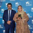 Rakhshan Banietemad lors de la remise des prix de la 71e Mostra de Venise le 6 septembre 2014