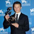 Romain Paul lors de la remise des prix de la 71e Mostra de Venise le 6 septembre 2014