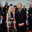 Philip Groning et Jessica Hausner lors de la cérémonie de clôture et la remise des prix de la 71e Mostra de Venise le 6 septembre 2014