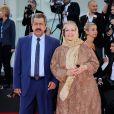Rakhshan Bani-Etemad lors de la cérémonie de clôture et la remise des prix de la 71e Mostra de Venise le 6 septembre 2014