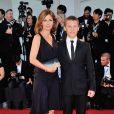 Alix Delaporte et Romain Paul lors de la cérémonie de clôture et la remise des prix de la 71e Mostra de Venise le 6 septembre 2014