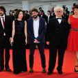 Les membres du jury lors de la cérémonie de clôture et la remise des prix de la 71e Mostra de Venise le 6 septembre 2014