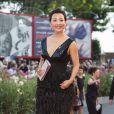 Joan Chen lors de la cérémonie de clôture et la remise des prix de la 71e Mostra de Venise le 6 septembre 2014