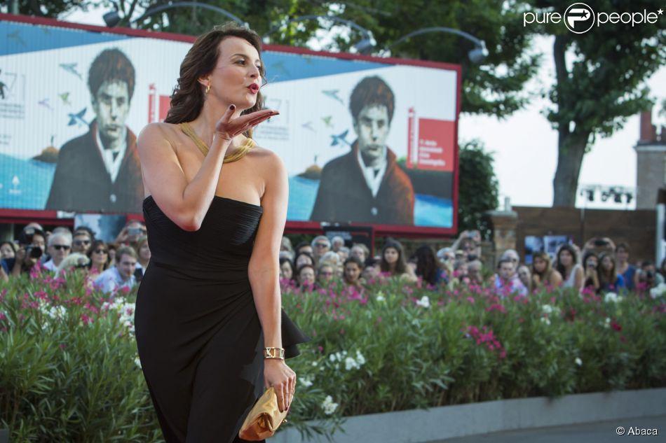 Violante Placido lors de la cérémonie de clôture et la remise des prix de la 71e Mostra de Venise le 6 septembre 2014