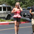 Britney Spears à Thousand Oaks, le 10 août 2014.